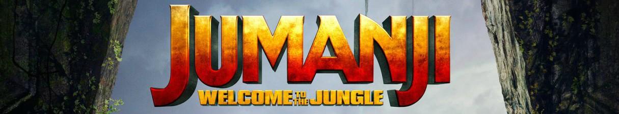 Jumanji Welcome To The Jungle Banner
