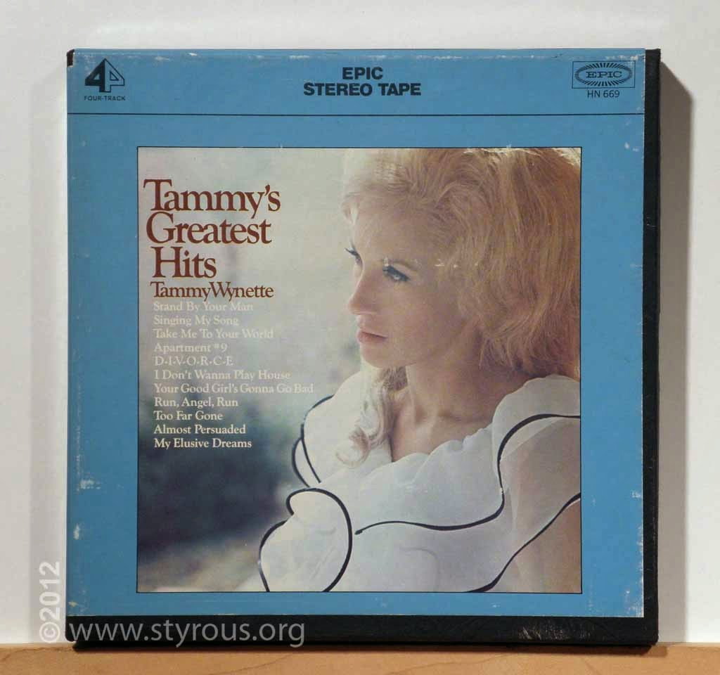 The Styrous 174 Viewfinder 101 Reel To Reel Tapes 10 Tammy