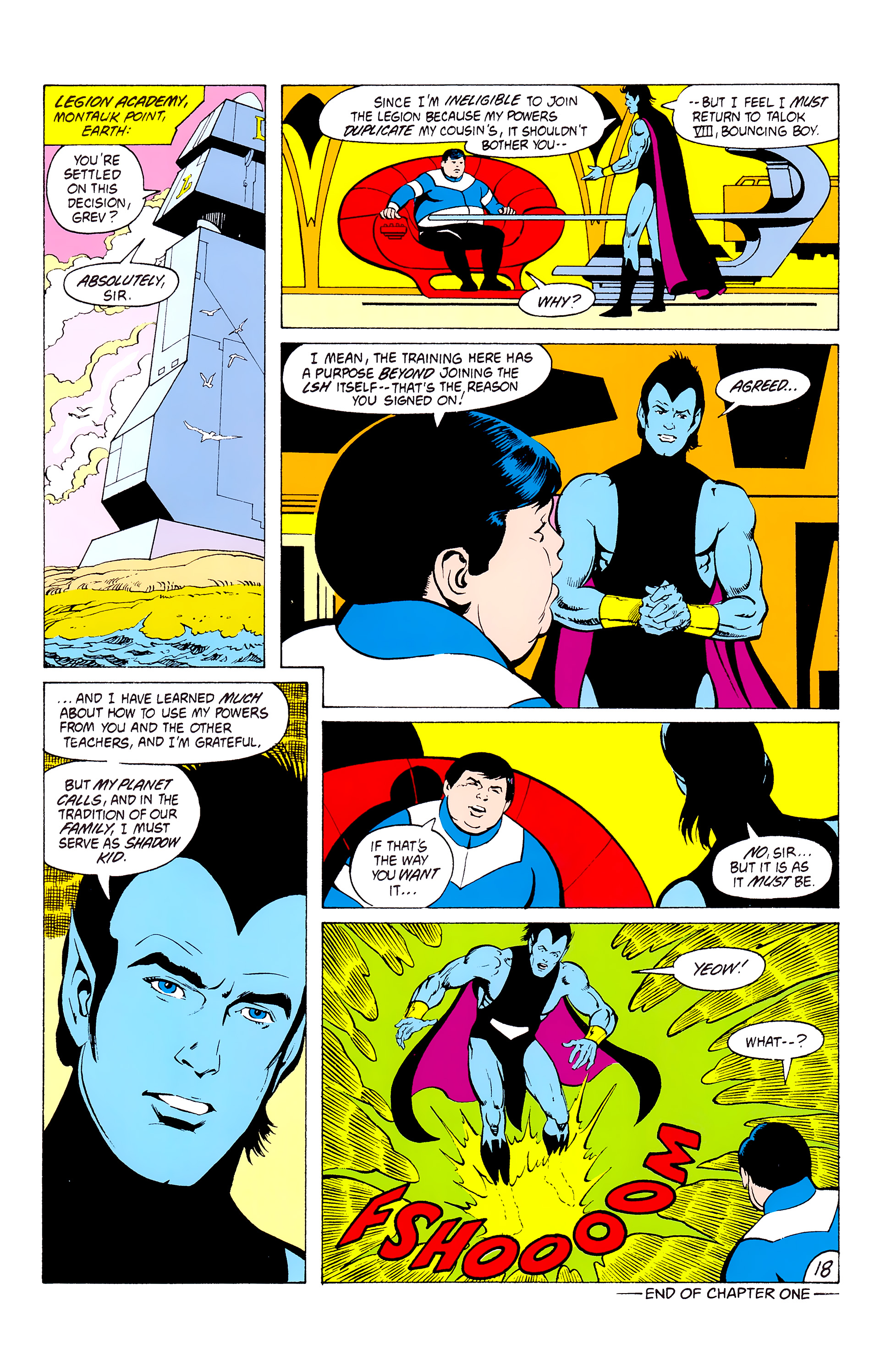 Legion of Super-Heroes (1980) _Annual_3 Page 18