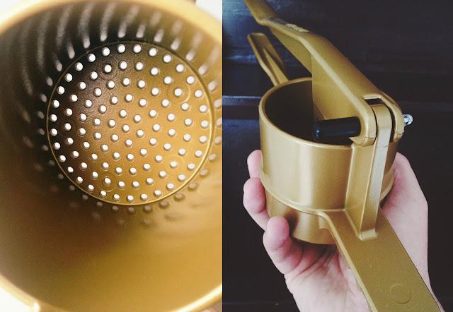 Spätzlepresse Marke Goldspatz