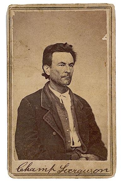 Western Fictioneers: Champ Ferguson: The Vengeful Confederate in ...
