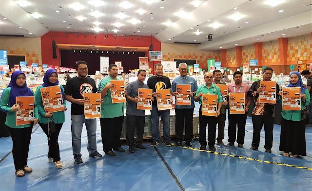 Jualan Buku Big Bad Wolf UMP Gambang 2019