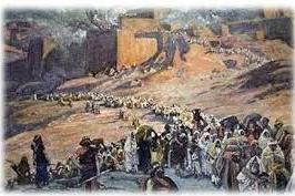 Bani Isra'il Digiring Nabi Musa Menuju Tanah Yang Dijanjikan Allah.