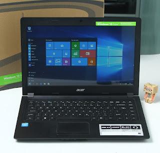 Jual Acer One 14 Z1401-C13A - Laptop Bekas