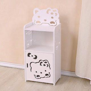 Trang tri phong ngu Hello Kitty dep 24