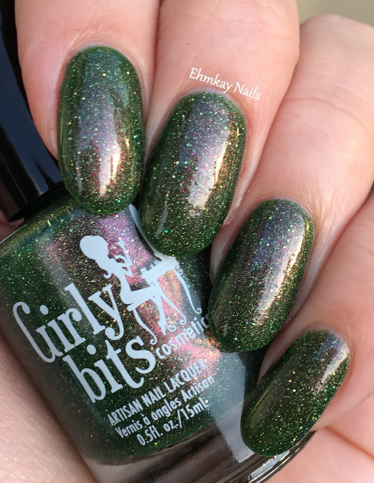 ehmkay nails: Girly Bits Colors of the Month: Grandma Got Run Over ...