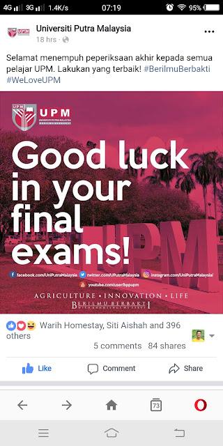 Warih-Homestay-UPM-Final-Exam-2018
