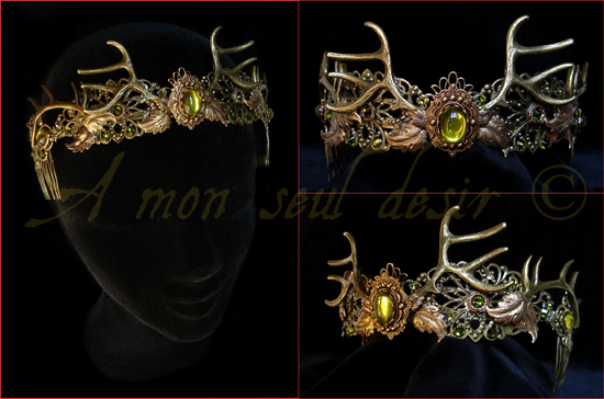 Couronne Baratheon Bois de Cerf Antlers Deer Crown