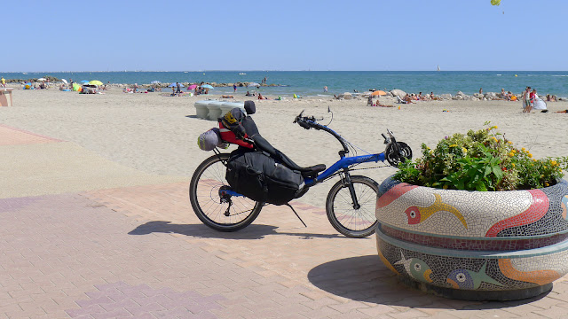 De Paris à Narbonne en vélo, Palavas-les-Flots