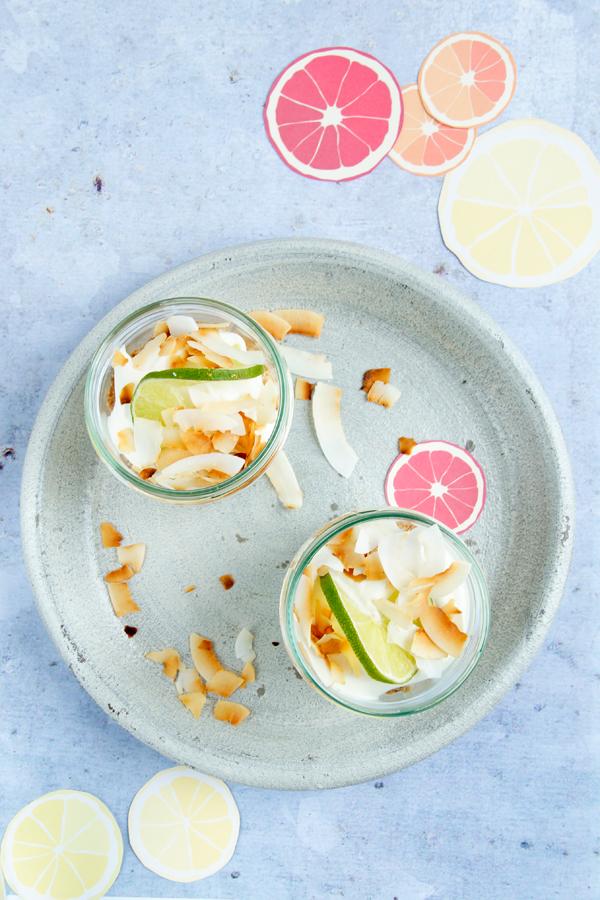Limettencreme Dessert Rezept Spoonandkey Foodblog