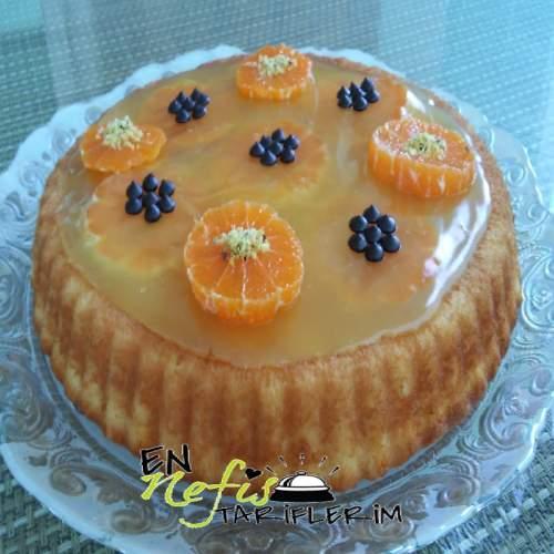 Portakallı Meyveli Tart Tarifi