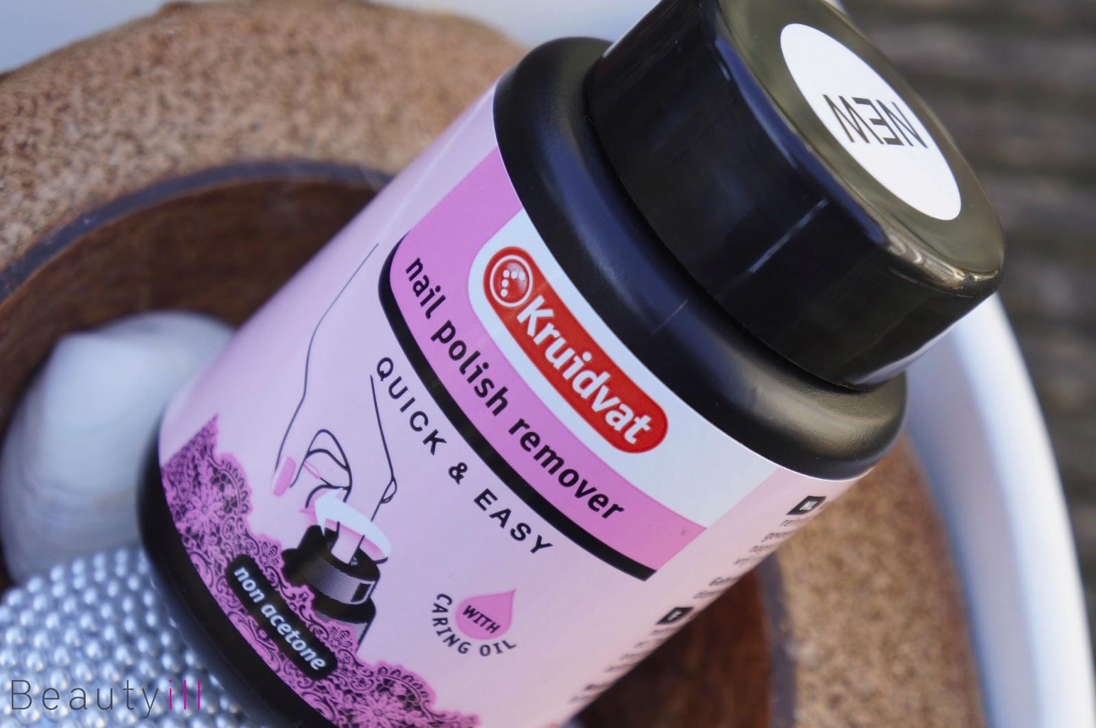 Als Quick Stop >> Kruidvat Nail Polish Remover Quick & Easy | Spons Remover