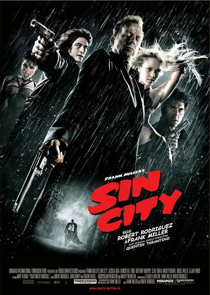 Wallpaper Film Sin City (2005)