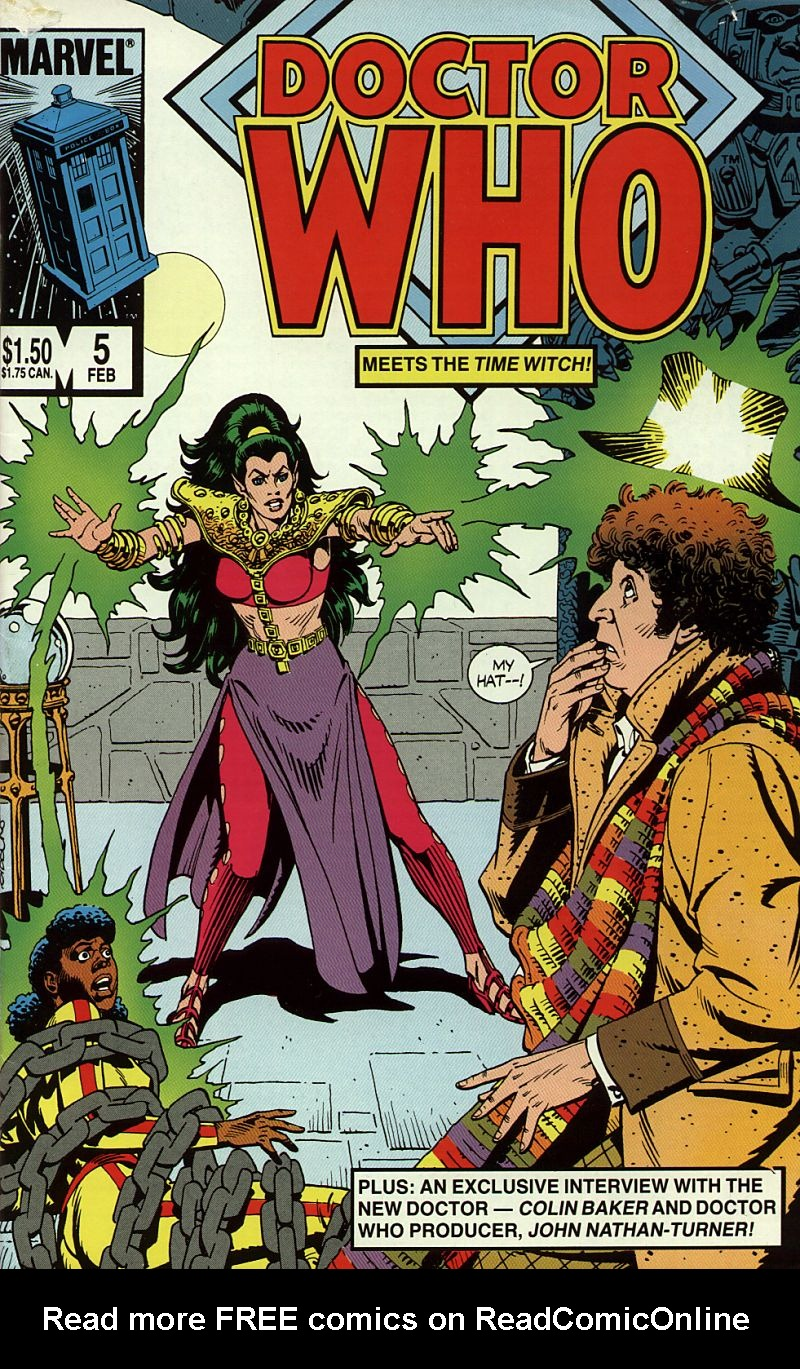 Doctor Who (1984) 5 Page 1