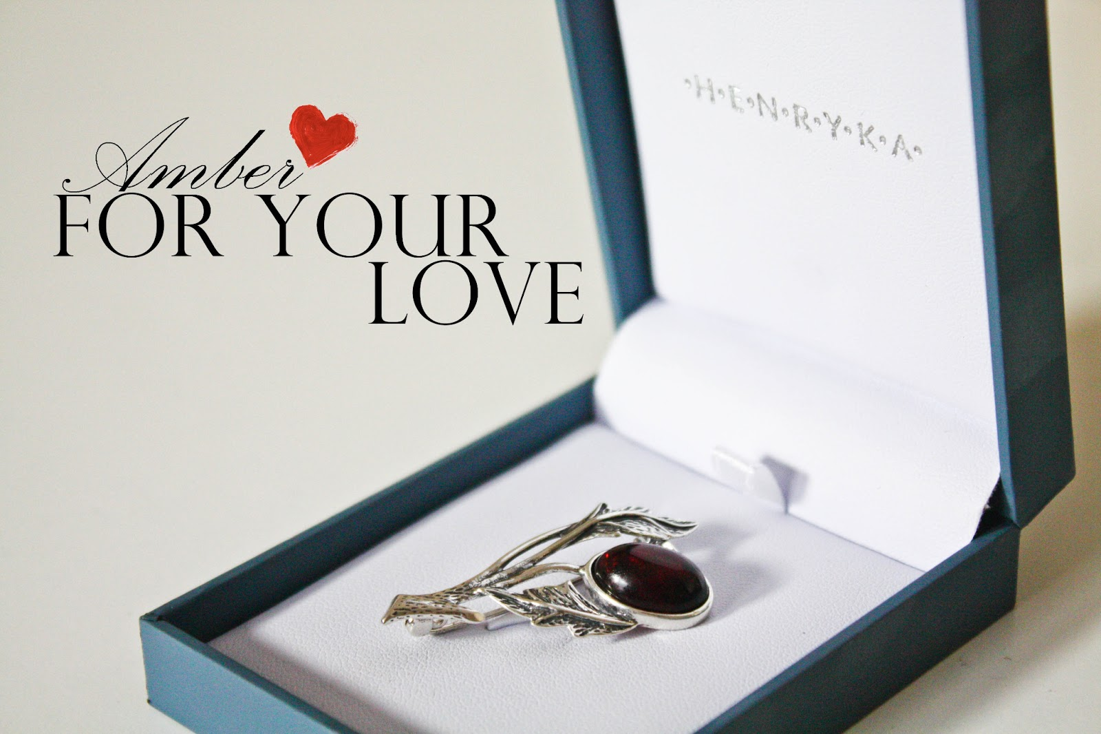Gift idea for Valentine's Day: Amber Jewellery