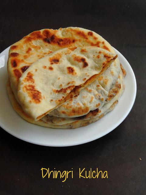 Dhingri Kulcha, Mushroom Kulcha