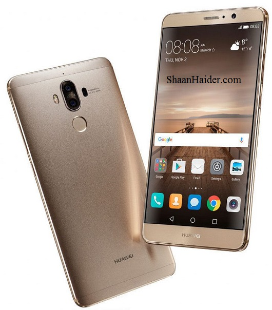 Huawei Mate 9 : Full Hardware Specs, Features, Price and Availability