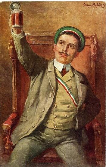 Georg Mühlberg - Ein prosit - ca. 1900