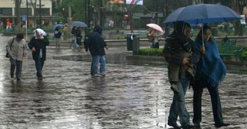 SENAMHI ALERTA: Sierra presentará lluvias, granizo y nevada a partir del mediodía - www.senamhi.gob.pe