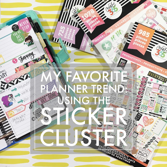 Creating a Sticker Cluster