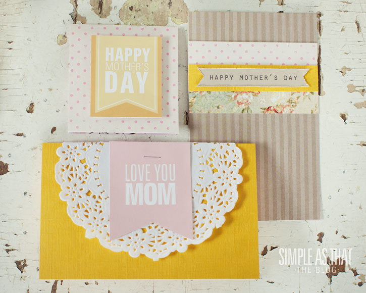 Simple Mother's Day Card Ideas - simple as that