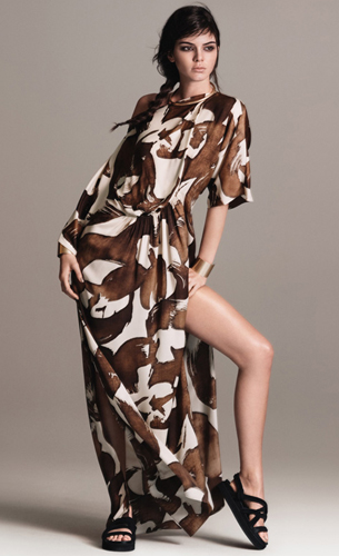 vestido largo primavera verano Mango Tribal Spirit