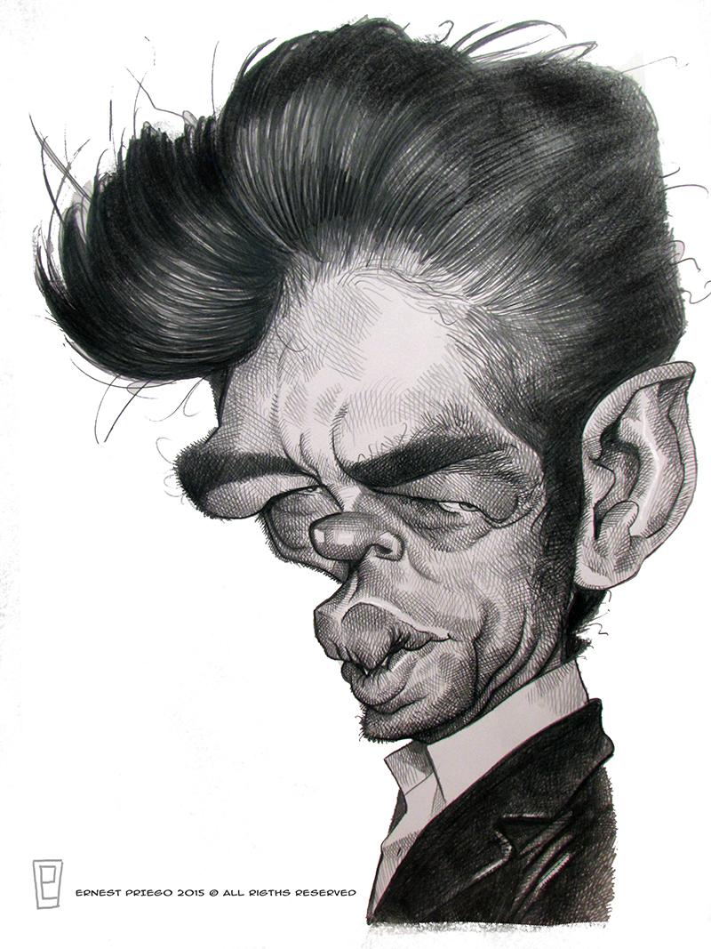 """Benicio Del Toro"" por Ernesto Priego"