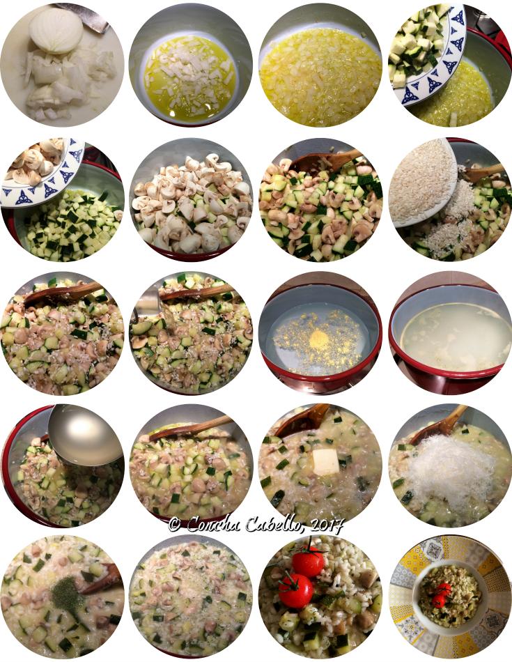 risotto-calabacín-champiñón-mise