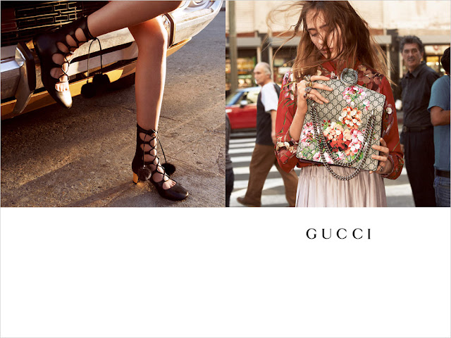 Gucci's Fall/Winter 15 Ad Campaign Has Landed!