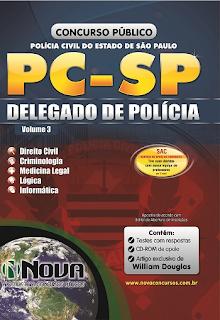 Apostila Polícia Civil do Estado de São Paulo, Delegado de Polícia -  PCSP.