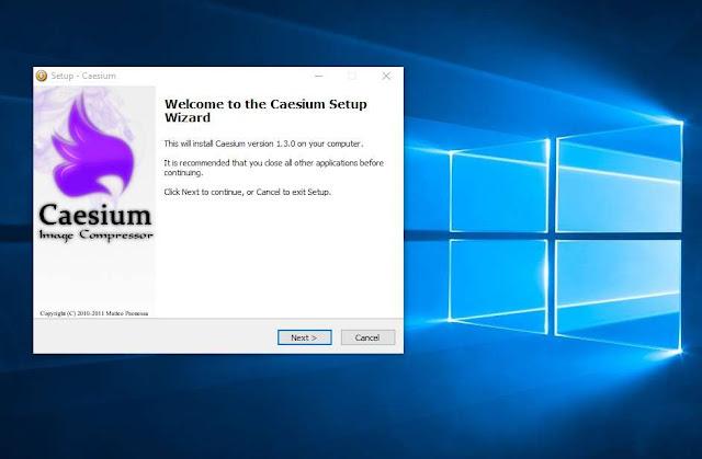 Phần mềm nén ảnh chất lượng cao, đa định dạng Caesium