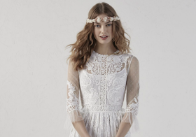 25e4dd147 Vestidos de novia elegantes que te encantarán si tienes más de 30