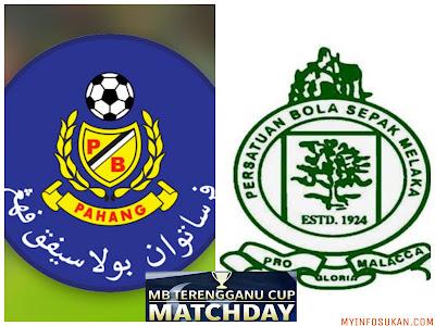 Live Streaming Pahang vs Melaka United MB Terengganu Cup 16 Januari 2018