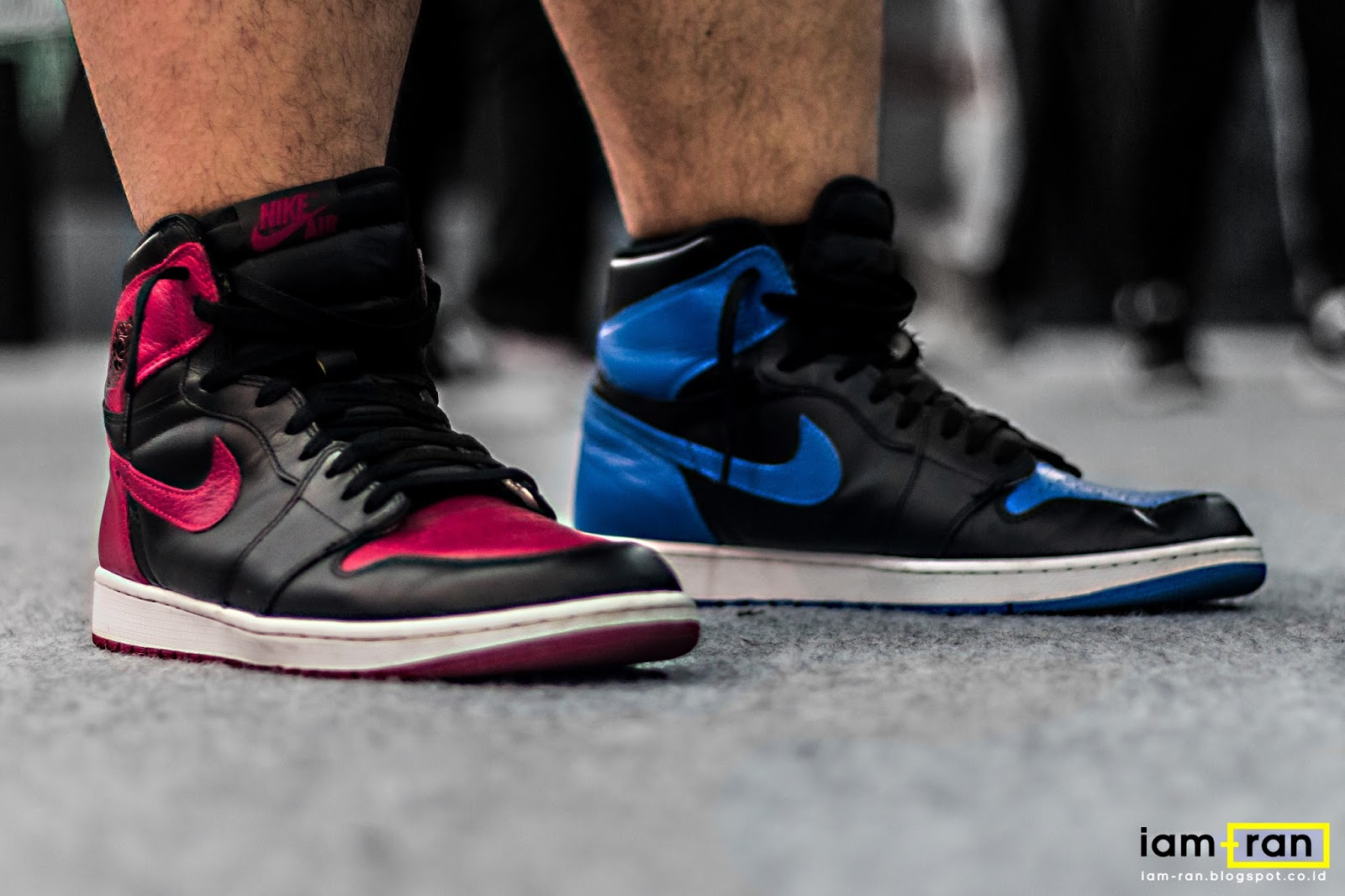 6809d44b15f IAM-RAN  ON FEET   Hilman - Nike Air Jordan 1