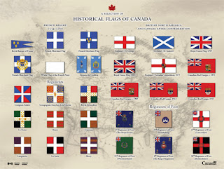 Get a Free Poster of Historical Canadian Flags!