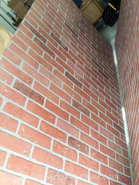 Red Brick Panel