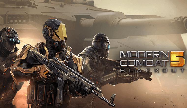 تحميل لعبة modern combat 5 للاندرويد اخر اصدار