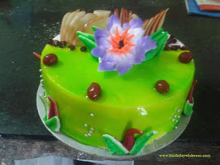 Green Pine Birthday Cakes