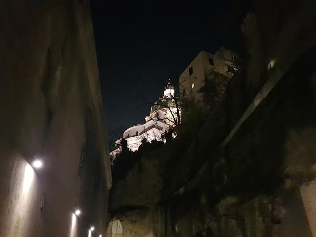 Catacombe di San Gennaro a Napoli-Parte inferiore-Basilica di Capodimonte