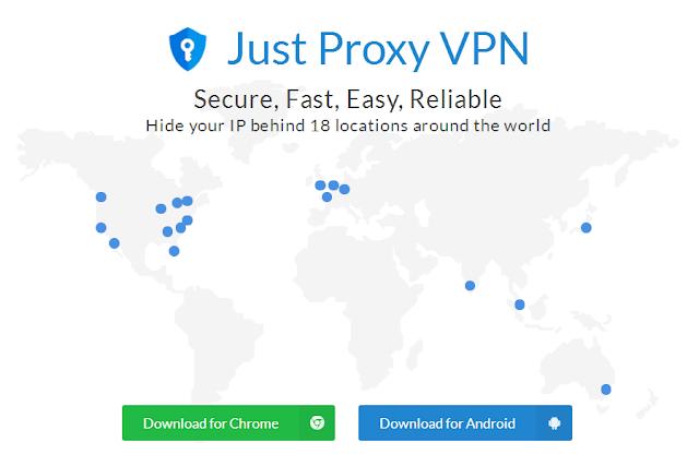 Just Proxy VPN 安全、快速免费翻墙工具