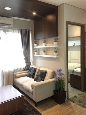Parquet livingroom apartement