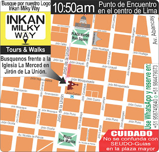 Horarios Lima walking tour