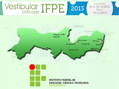 Vestibular 2013 do IFPE