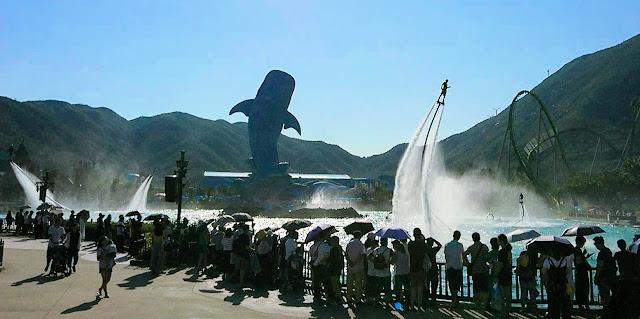 珠海長隆海洋王國 水上飛人大匯演