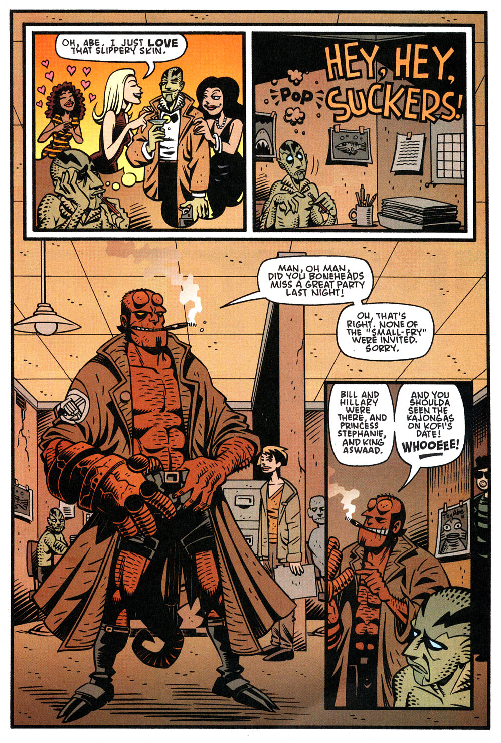Read online Hellboy: Weird Tales comic -  Issue #4 - 19