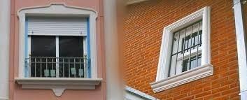 Ventanas fotos de ventanas imagenes de ventanas dise os - Molduras para paredes exteriores ...