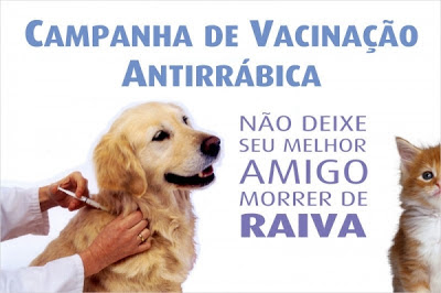 Resultado de imagem para Dia D de Vacinação Anti-Rábica