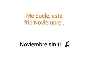 Reik Noviembre Sin Ti significado de la canción.