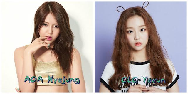 Aynı gün doğan idoller hyejung yeeun