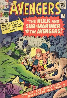 Avengers #3, the Hulk and Sub-Mariner